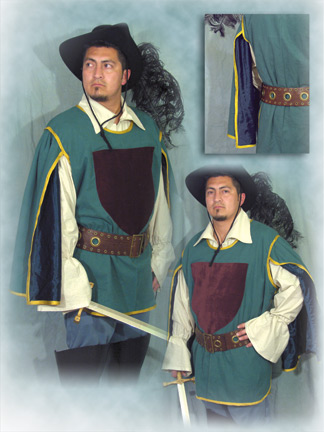 Musketeer in Green