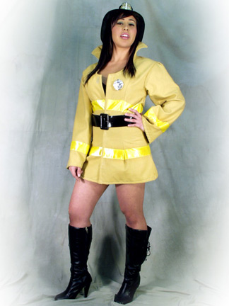 Fire Fighter Girl